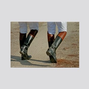 Riding Boots-5x7 Rectangle Magnet
