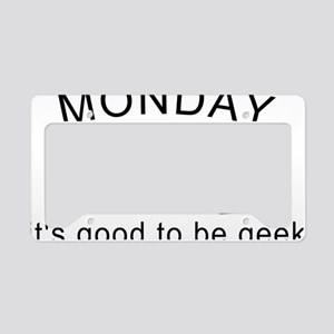 Monday Geek Computer Keys License Plate Holder