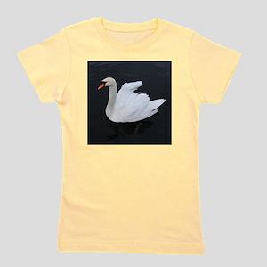 Swan_On_Water Girl's Tee