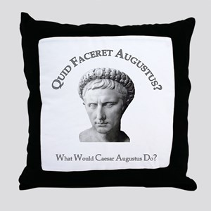 What Would Augustus Do? Throw Pillow