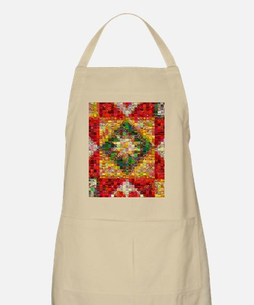 Triangle Patchwork ... Apron