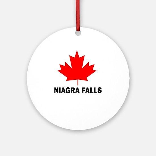 Niagra Falls Ornament (Round)