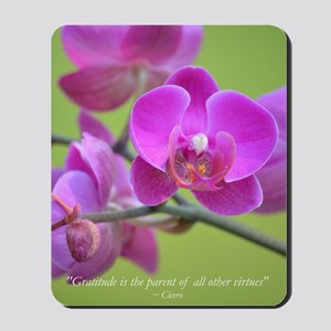 Purple Orchid Mousepad