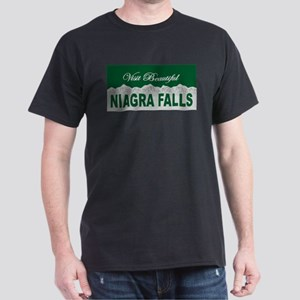Visit Beautiful Niagra Falls Dark T-Shirt
