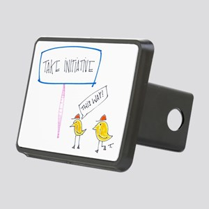 Lead the Way Rectangular Hitch Cover