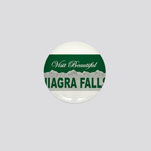 Visit Beautiful Niagra Falls Mini Button