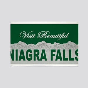 Visit Beautiful Niagra Falls Rectangle Magnet