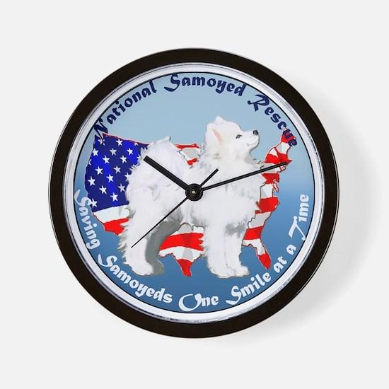 National Samoyed Rescue Wall Clock
