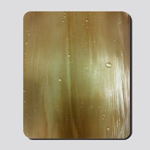 Pearlized Palm Frond Mousepad