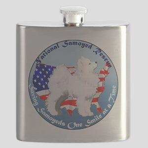 National Samoyed Rescue Flask