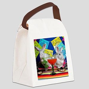 Tiggy and Beatrix Celebrate Cinco Canvas Lunch Bag