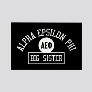 Alpha Epsilon Phi Big Sister Athl Rectangle Magnet