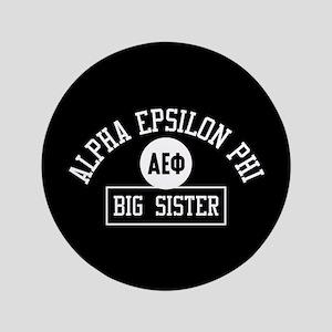 "Alpha Epsilon Phi Big Sister Athletic 3.5"" Button"