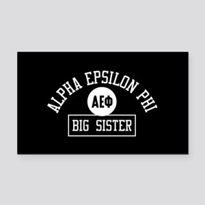 Alpha Epsilon Phi Big Sister Rectangle Car Magnet