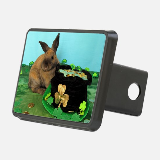 Buddy the Lucky Bunny Hitch Cover