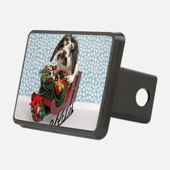Dudley in Winter Sleigh Hitch Cover