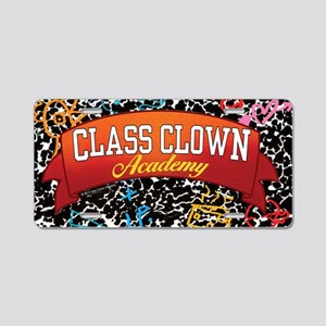 sticker rectangle Aluminum License Plate