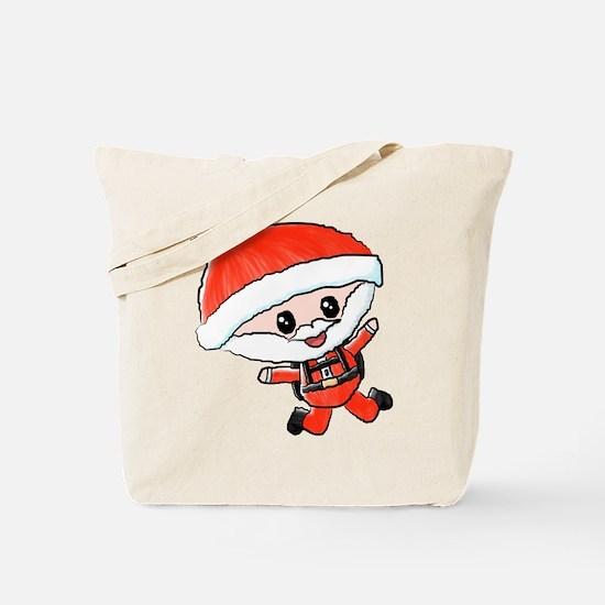 Skydiving Santa Tote Bag