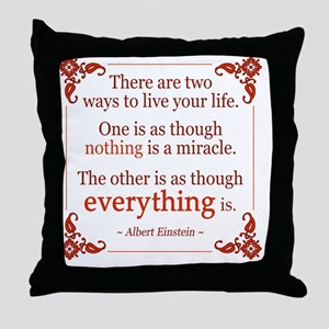 Einstein Quotes Pillows Cafepress