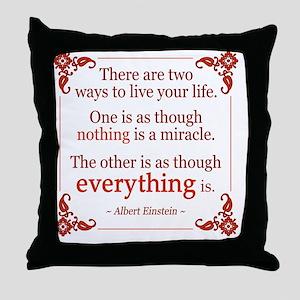 Einstein Quotes Pillows Cafepress