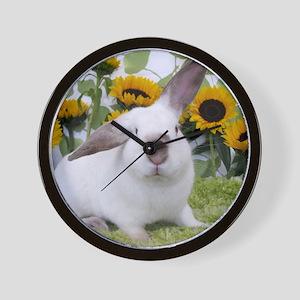 Presto with Sunflowers-1 Wall Clock