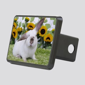 Presto with Sunflowers-1 Rectangular Hitch Cover
