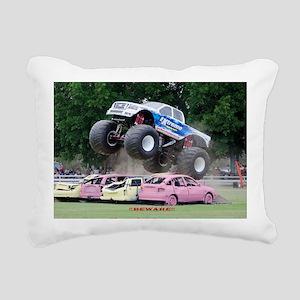 368 stadium blanket hori Rectangular Canvas Pillow