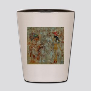 Egyptian abstract Shot Glass