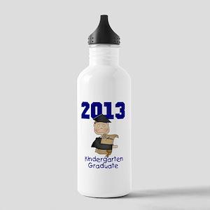 Boy 2013 Kindergarten  Stainless Water Bottle 1.0L