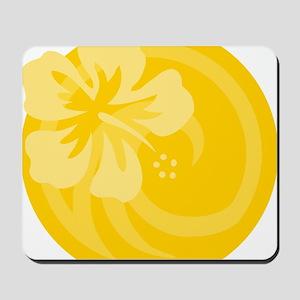 Yellow T Shirt Mousepad