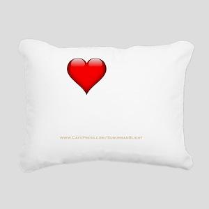 I Love My Dominatrix dar Rectangular Canvas Pillow