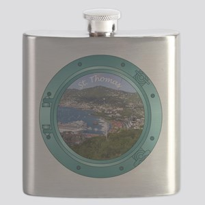 St Thomas Porthole Flask
