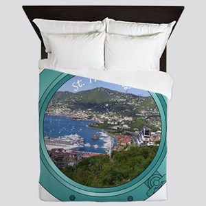 St Thomas Porthole Queen Duvet