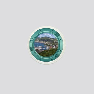 St Thomas Porthole Mini Button
