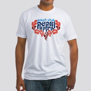 Catch that Pepsi Spirit Fitted T-Shirt