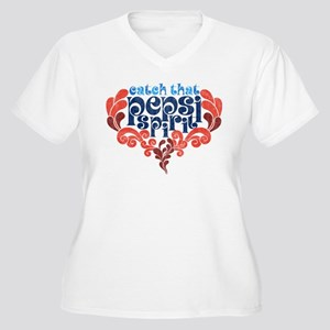 Catch that Pepsi Women's Plus Size V-Neck T-Shirt