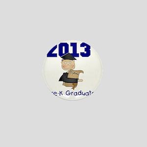 2013 Boy Pre-K Graduate Mini Button