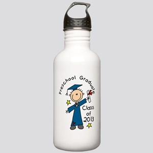 Stick Figure Boy 2013  Stainless Water Bottle 1.0L