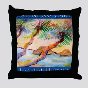final_signature_tile Throw Pillow