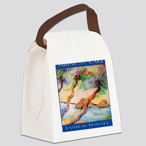 final_signature_tile Canvas Lunch Bag