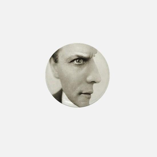 Houdini Optical Illusion Horizontal Mini Button