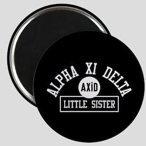 Alpha Xi Delta Little Sister Athletic Magnet