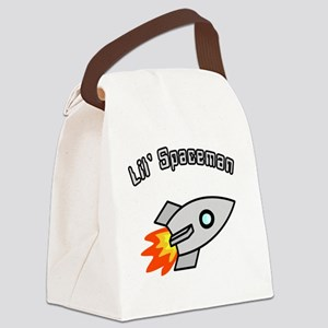 Lil Spaceman Canvas Lunch Bag