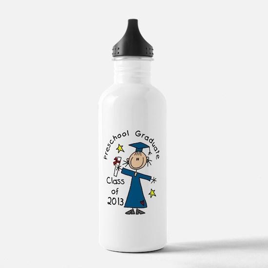 Stick Figure Girl 2013 Water Bottle