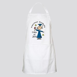 Stick Figure Girl 2013 Preschool Grad Apron