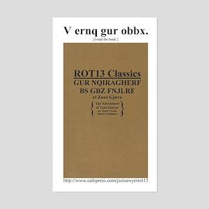 ROT13 Classics - Tom Sawyer Rectangle Sticker