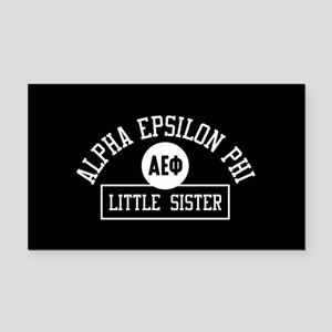 Alpha Epsilon Phi Little Sist Rectangle Car Magnet
