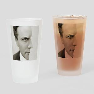 Houdini Optical Illusion Drinking Glass