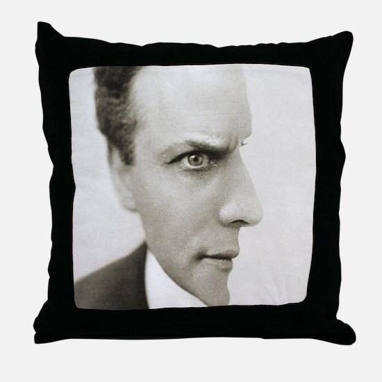 Houdini Optical Illusion Throw Pillow