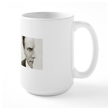 Houdini Optical Illusion Both Sides Large Mug